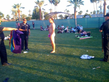 coachella naked wizard