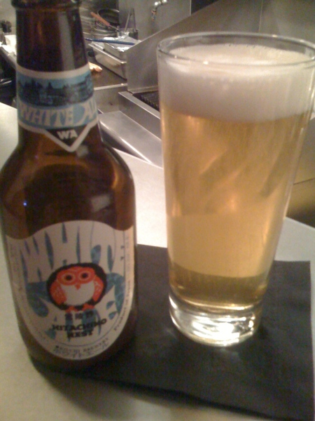 Hitachino Nest beer at Hudson House