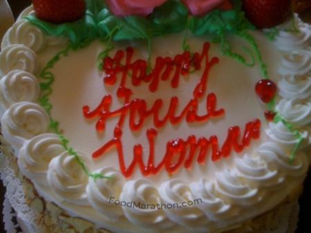 Happy House Woman! housewarming cake